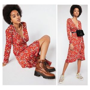 NWT✨Free People Covent Garden Floral Dress Size 0